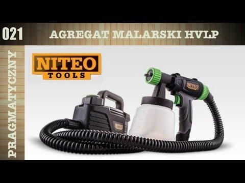 Pistolet natryskowy Niteo Tools z Biedronki produkty z bdr