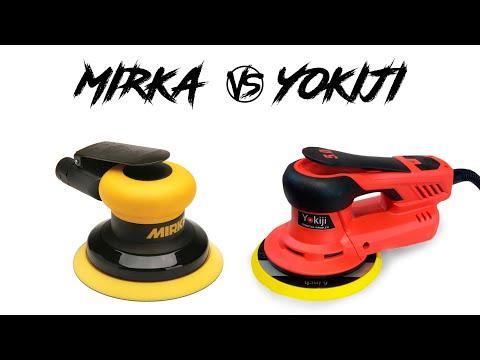 Mirka против Yokiji. Какая шлифмашинка лучше?
