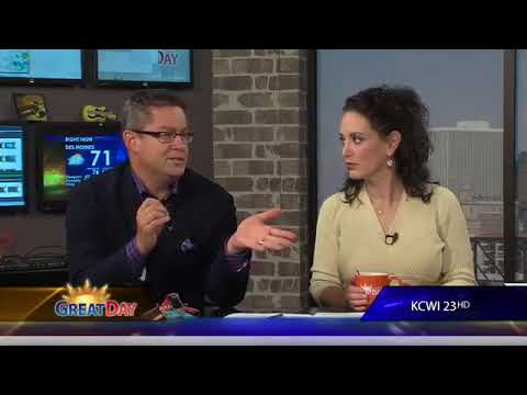 GWEN  Global Womens Empowerment Network   founder Tess Cacciatore Interview with KCWI 23