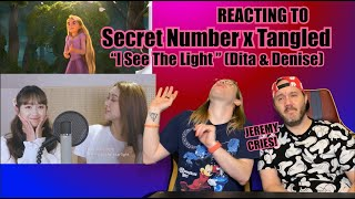 "Disney Gays Reacting to Secret Number x Tangled ""I See The Light"" (Dita & Denise SLAY!!)"