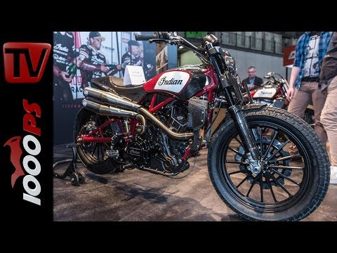 Indian Neuheiten 2018 - Scout FTR1200, Scout Sixty, Springfield Dark Horse, Roadmaster Elite