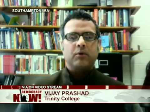 Juan Cole vs. Vijay Prashad: A Debate on U.S. Military Intervention in Libya. Part 1 of 2