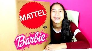 GIANT BOX TOY SURPRISE  FROM MATTEL BARBIE TOYS!! B2cutecupcakes