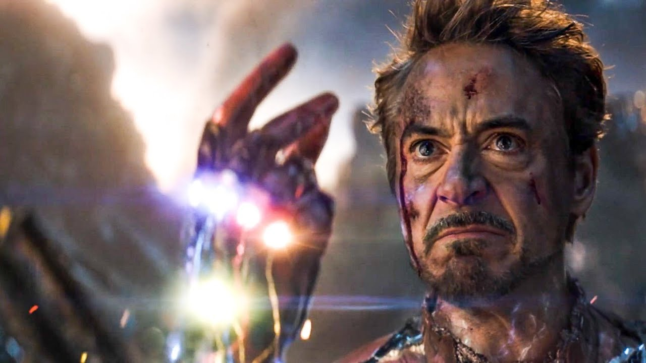 "I Am Iron Man."" Scene - Tony Snaps His Fingers 