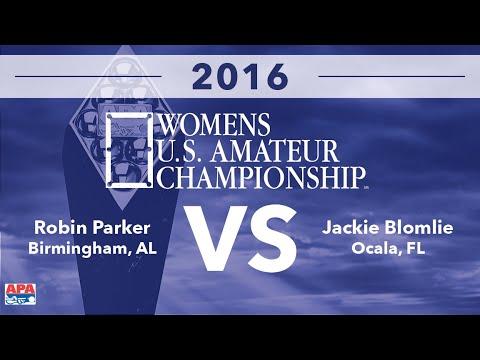 2016 Womens U.S. Amateur Championship FINALS - Robin Parker VS Jackie Blomlie