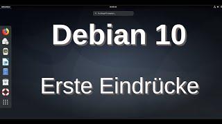Debian 10 Buster - Erste Eindrücke und Tipps - Installationsmöglichkeiten