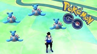 BEST POKEMON SPAWN AREA | Pokemon Go | CATCHING WILD LAPRAS