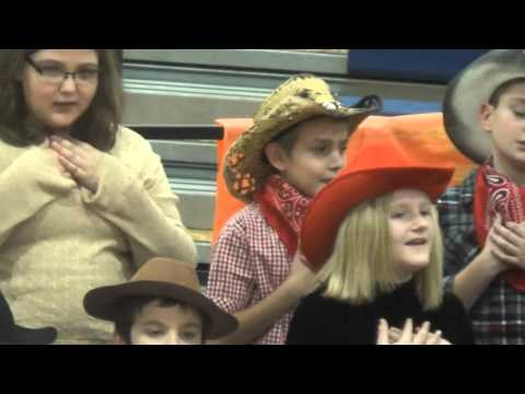 Lowellville 3rd and 4th Grade Christmas Play, 12 15 15