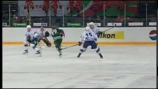 Очередное разбитое стекло / Another glass broken in KHL