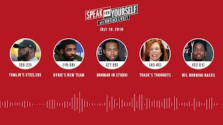 SPEAK FOR YOURSELF Audio Podcast (7.18.19) with Marcellus Wiley, Jason Whitlock | SPEAK FOR YOURSELF