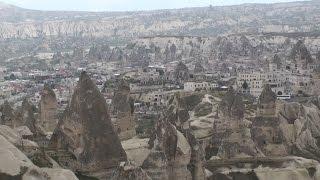 Fairy Chimney Rock Formations - Göreme, Cappadocia, Turkey