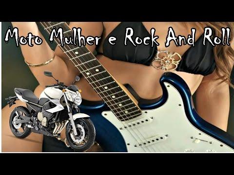 XJ6 # Moto Mulher e Rock And Roll