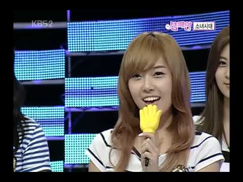 [090718] Cold Noodles (NaengMyeon) KBS2 Champagne - Jessica cut