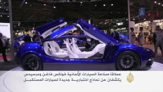 المركبات الكهربائية تخطف الأنظار بمعرض باريس للسيارات