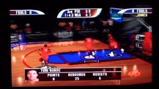NBA Hoopz (PS1) 76ers VS. Heat