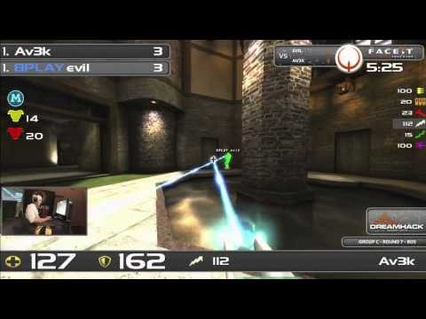 DHW2013 - Quake Live (GROUP C - R6) - Av3k vs evil