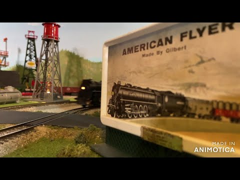 American Flyer Layout Tour Of Trains & Accessories
