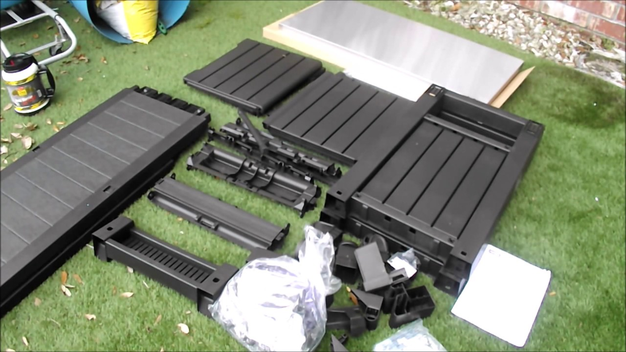 Review of Keter Unity XL outdoor cabinet - YouTube