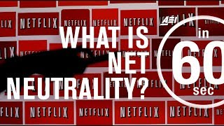 What is Net Neutrality? | IN 60 SECONDS