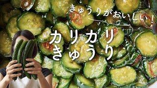 カリカリきゅうりのレシピ・作り方