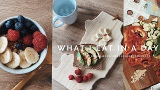 What I Eat In A Day (non-vegan)   viviannnv