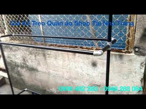 Giàn Giá Kệ Treo Quần Áo Shop Tphcm Sài Gòn 0948283084