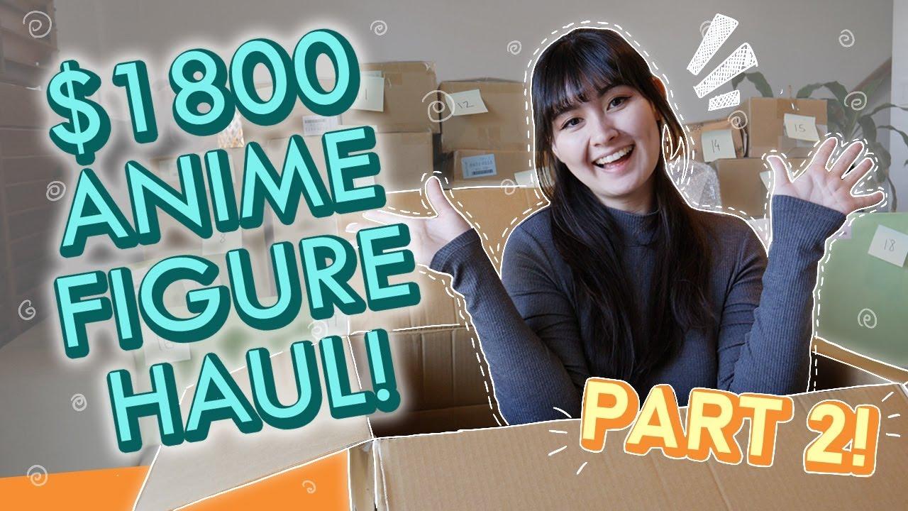 $1800 Anime Figure Haul! (PART TWO) | My next bunny-girl figure! | Fate, Madoka + Nendoroids