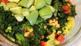 Kale Salad - Amazing Tips For Using Raw Kale