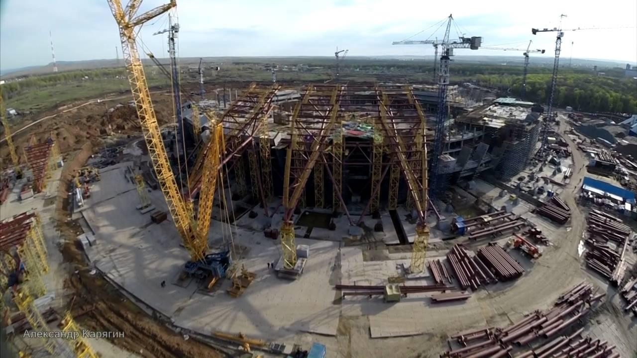 Строительство Стадиона В Самаре Фото Август 2016