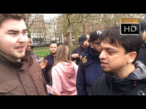 Clueless Claims!? Mansur Vs Christian | Speakers Corner | Hyde Park