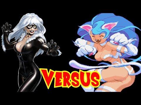 Felicia vs Black Cat