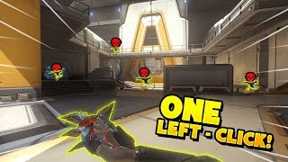 Genji Got 4 Kills With ONE Left-Click!! - Overwatch Funny Moments & Best Plays 21