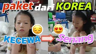 [Vlog Korea+Indonesia] KECEWA BANGET? Unboxing paket dari korea Oleh oleh korea