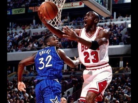 631ca76022e Michael Jordan 1995: 40 Points v Orlando Magic - Eastern Conference  Semifinals Game 3 - MJ v Penny
