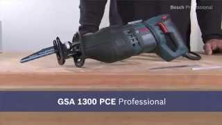 Mabéo Direct présente la scie sabre GSA 1300 PCE de Bosch Professional