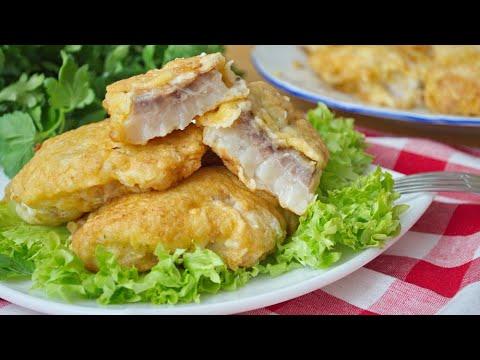 Рыба в кляре: самый вкусный рецепт ⭐🐟⭐ Секреты вкусного кляра и сочной рыбы!