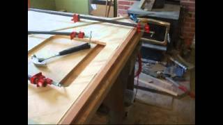 Cabinet Construction: Clamping And Gluing A Vanity Countertop