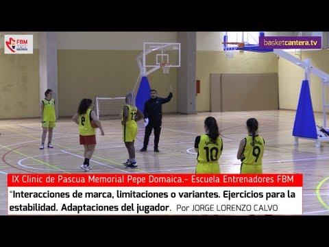 """Clinic """"INTERACCIONES DE MARCA, LIMITACIONES O VARIANTES. EJERCICIOS..."""" Por J. Lorenzo Calvo. FBM"""