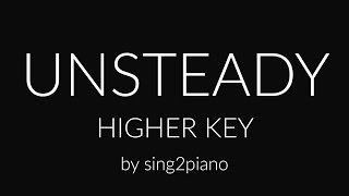 Unsteady (Higher Piano karaoke demo) X Ambassadors