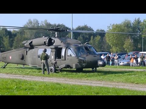 S-70 Blackhawk Bundesheer take off start up