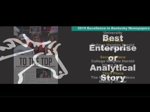 2015 Excellence in Kentucky Newspapers Video