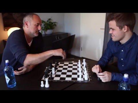 """Magnus Carlsen vs. Espen Agdestein in """"Alternating Bishops / Knights Chess"""""""