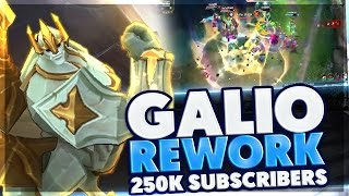 NEW GALIO REWORK IS SO BROKEN | 25 10$ RP CARD GIVEAWAY | REWORKED GALIO SUPPORT | BunnyFuFuu