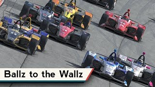 iRacing : Ballz to the Wallz Nutznezz [VR] (IR18 @ Smooooth Michigan)