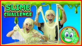 SUPER SLIME TRIVIA CHALLENGE | We Are The Davises