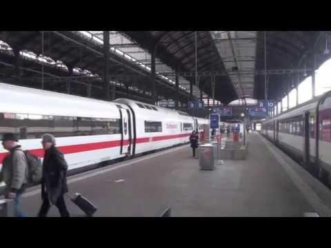 Bahnhof Basel / railway station Basel / gare de Bâle, Switzerland