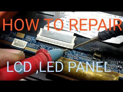Sansui Led TV Screen Problem Solve It ,panel Shot ,led  Panel Repair