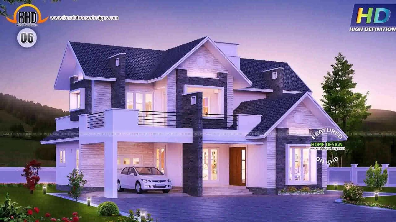 New Home Design Trends 2015 Kerala Youtube