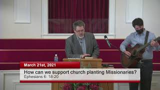 How can we support church planting Missionaries?