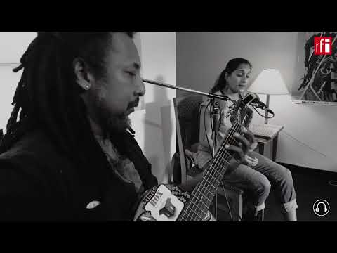 Session live à Montréal avec Ziskakan - Maya Kamaty enregistrée en binaural p/Laure Temperville RFi